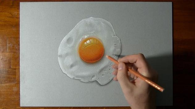 Amazing 3D Art Drawing HD poster