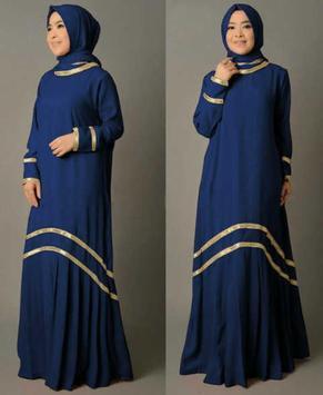 Desain Baju Muslim Wanita 2017 poster