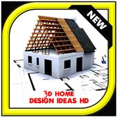 3D Home Design Ideas HD icon