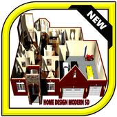 Home Design modern 5D icon