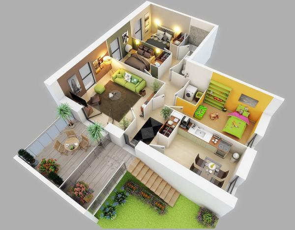 Home Design Modern 5d For Android Apk Download