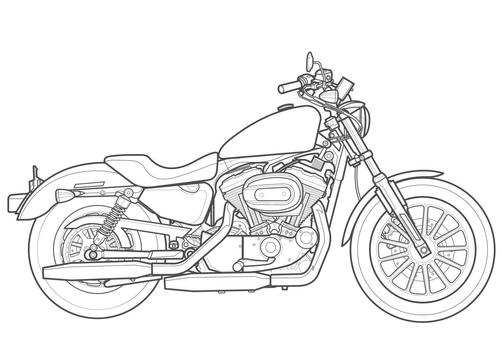 How To Draw Motorcycles screenshot 4