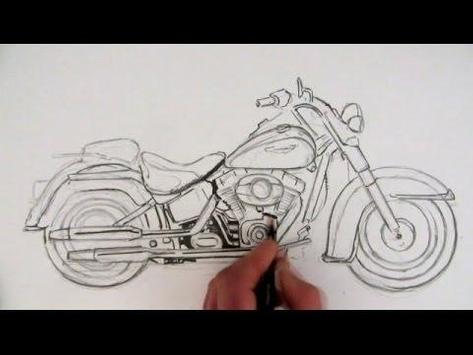 How To Draw Motorcycles poster