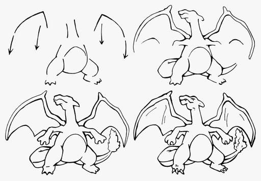 How to draw Pokemon apk screenshot