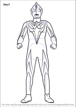 How To Draw Ultraman screenshot 3