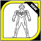 How To Draw Ultraman tiga icon