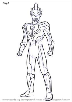 How To Draw Ultraman Tiga Apk Screenshot