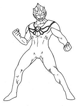 How To Draw Ultraman tiga poster