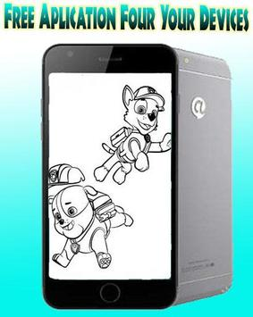 How To Draw Paw Patrol dog poster