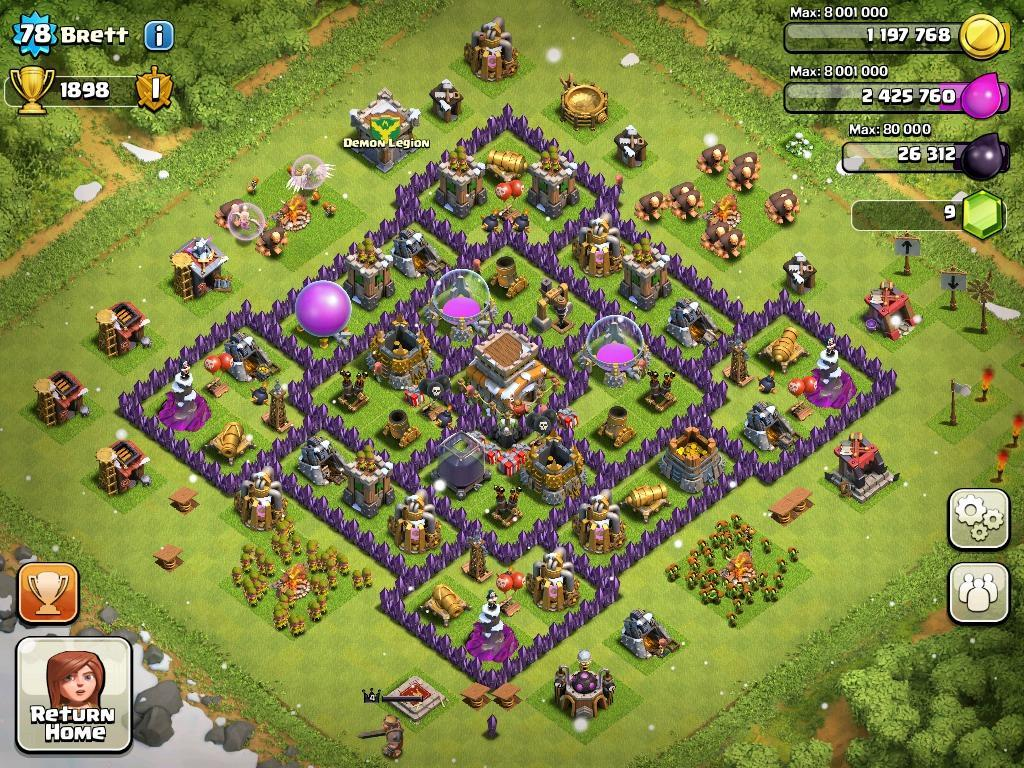 Base Coc Th 8 Terkuat 5