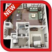 3D Home Floor Plan Designs icon