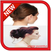 Simple hairstyles icon