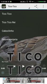 Canto de Coleiro Tui Tui apk screenshot