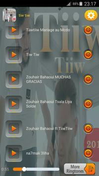جميع اغاني تيو تيو بدون نت 2018 - TiiwTiiw screenshot 3