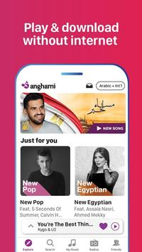 Anghami - Free Unlimited Music apk screenshot