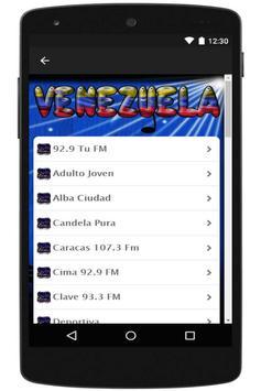 Radio Venezuela Online apk screenshot