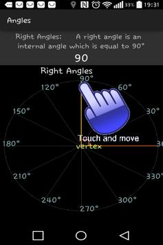 Protractor Angles poster