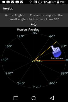 Protractor Angles apk screenshot