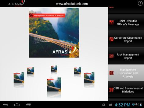 AfrAsia Annual Report 2013 apk screenshot