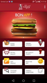 KFC Mauritius screenshot 1