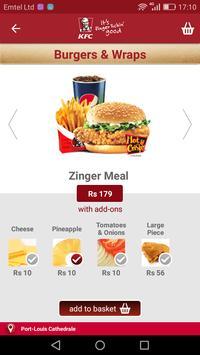 KFC Mauritius screenshot 4