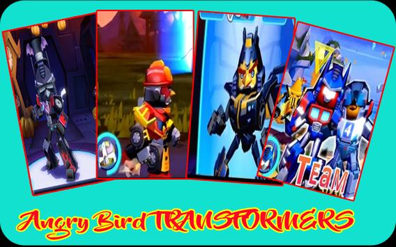 Tips Angry Bird Tranformers free poster