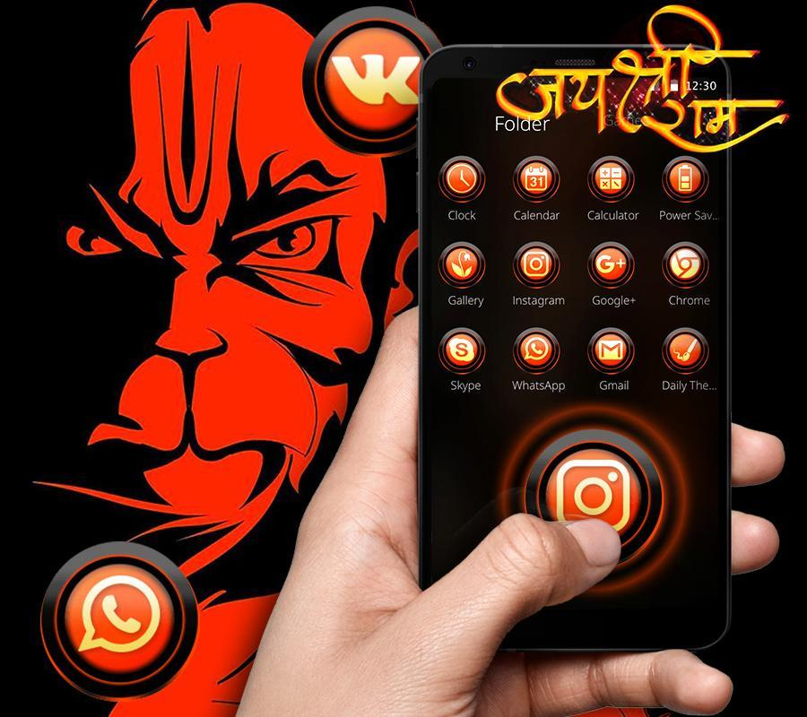 angry hanuman hd wallpaper for mobile free download
