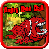 Angry Red Ball Jungle Running icon