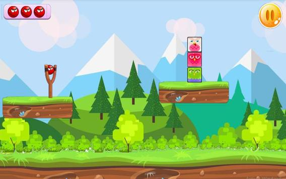 Angry Red Ball screenshot 1