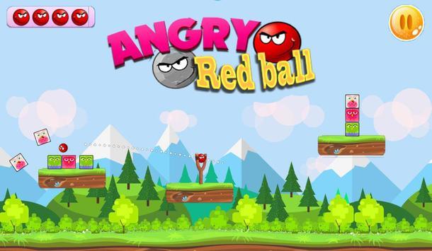 Angry Red Ball screenshot 2