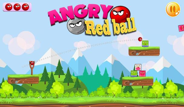 Angry Red Ball screenshot 3