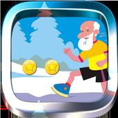 Angry Grandpa Run icon