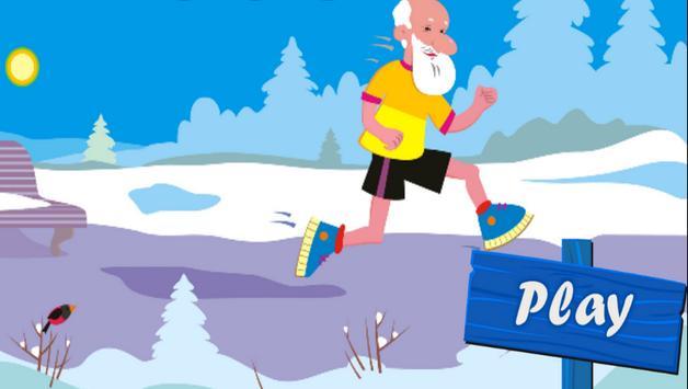 Angry Grandpa Run poster