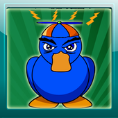 Angry duck icon