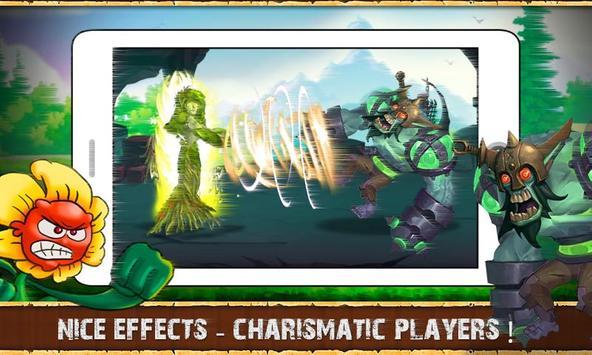 Angry Plants Go apk screenshot