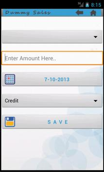 Dummy Sales apk screenshot