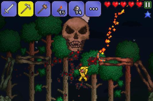 Terraria apk screenshot
