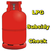 LPG Subsidy Check icon