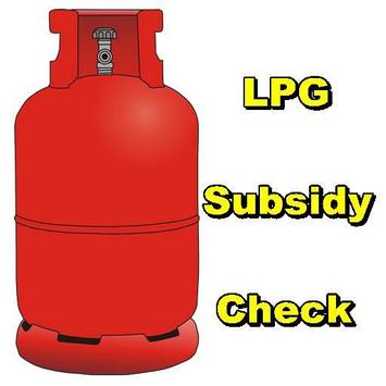 LPG Subsidy Check poster