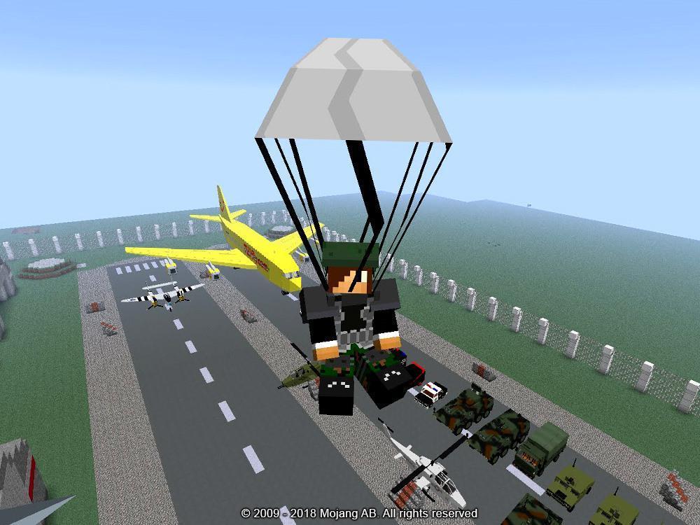 майнкрафт мод aircraft #6