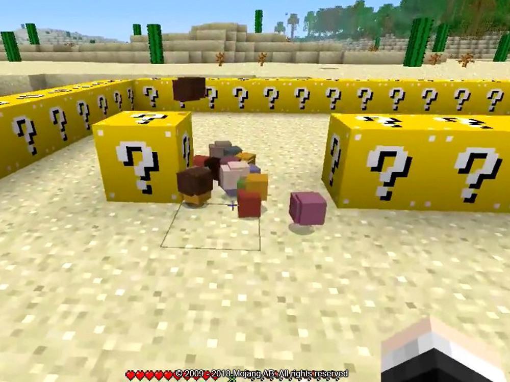 Моды на майнкрафт 1 5 2 лаки блоки