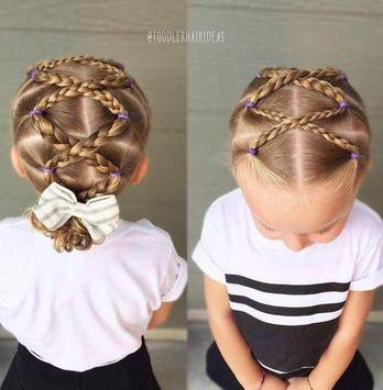 The Little Girl Hairstyles Ideas screenshot 2