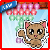 Bubble Cat Shooting icon