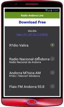 Radio Andorra Live screenshot 1