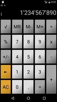 Calculator andanCalc LT ảnh chụp màn hình 1