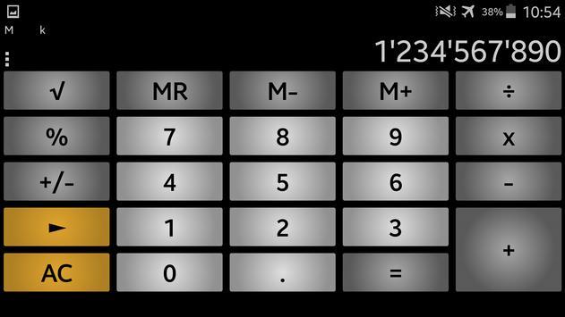 Calculator andanCalc LT ảnh chụp màn hình 3