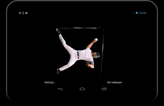 Baseball Live Wallpaper Apk Screenshot