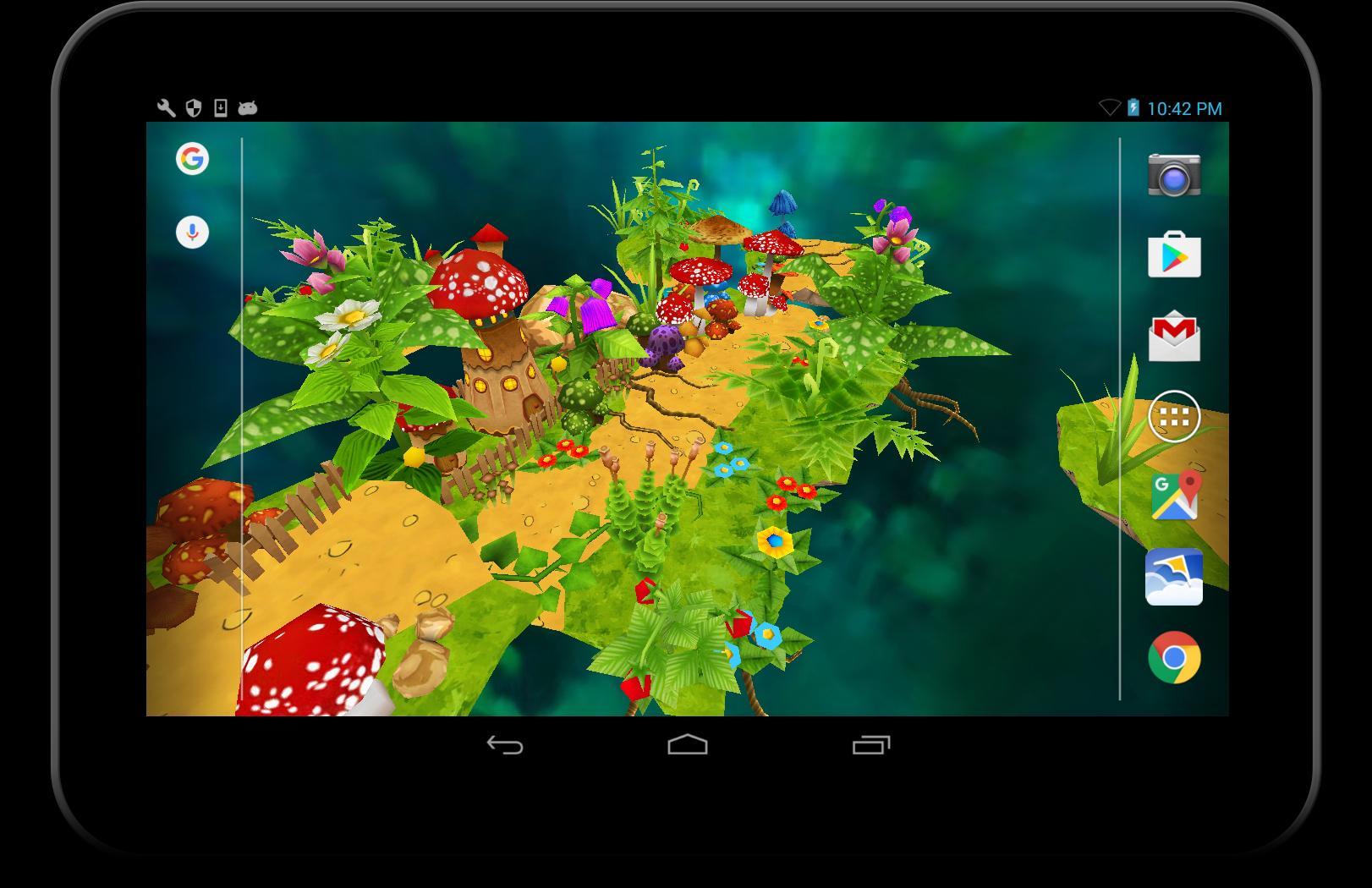3d Kartun Taman Wallpaper For Android Apk Download
