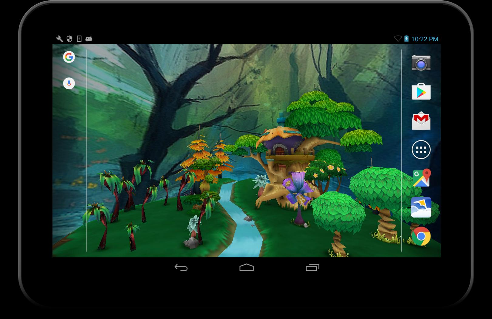 3d Kartun Taman Hidp Wallpaper For Android Apk Download