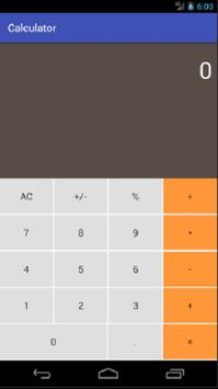 calculator apk screenshot
